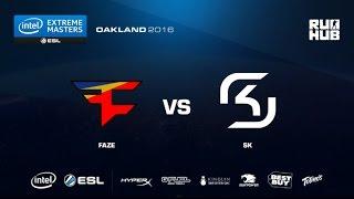 IEM Oakland - FaZe Clan vs SK Gaming - de_nuke - [flife]