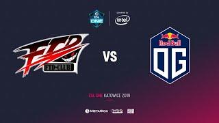 FTD vs OG, ESL One Katowice 2019, bo2, game 1, [Lum1sit]