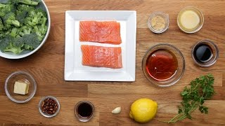 Maple-Glazed Salmon Dinner in 15 Minutes or Less by Tasty