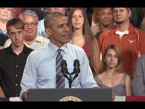 The President Speaks on the Economy