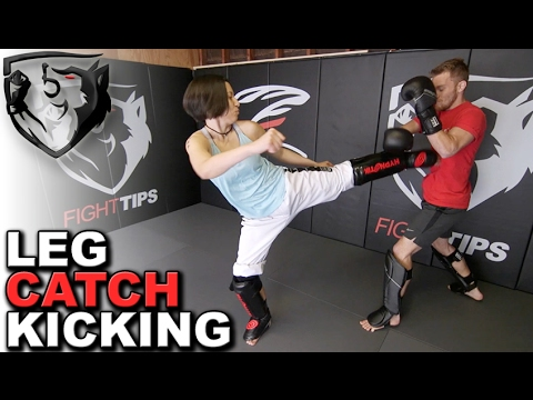 How to Kick without Getting Your Leg Caught