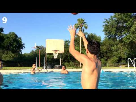 SWIMMING POOL 3 POINT CONTEST! (видео)