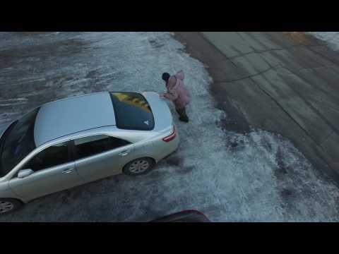 بالفيديو...محاولة اختطاف متسول روسي من طائرة بدون طيار