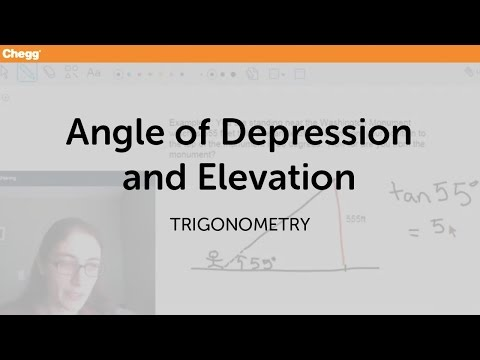 angle of elevation and depression definition pdf