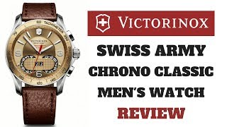 CLICK TO BUY: http://ireviewwatches.com/victorinox-swiss-army-chrono-classic-mens-watch/