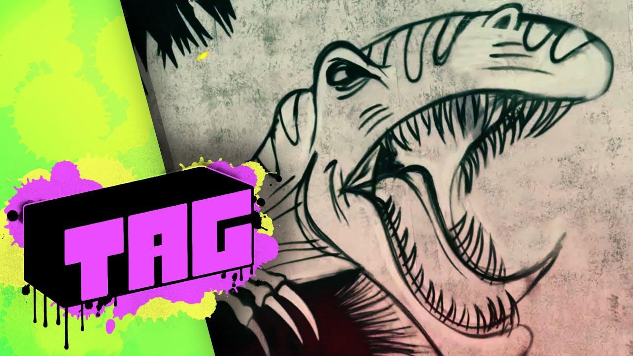 TAG: Jurassic World (2015) – Graffiti Art Series HD #Estrenos #Trailers