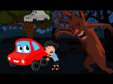 Video Little Red Car In The Scary Woods | Car Rhymes And Songs download in MP3, 3GP, MP4, WEBM, AVI, FLV January 2017