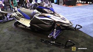 6. 2016 Yamaha Apex XTX 1.25 Sled - Walkaround - 2015 St Hyacinthe ATV Show
