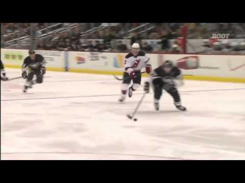 Sidney Crosby breakaway goal on Brodeur 3/25/12