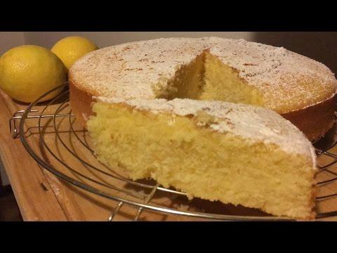 torta semplice e soffice al limone - ricetta