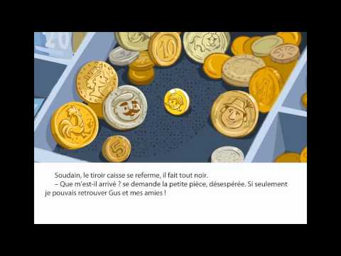 Book App for kids. Gus' Little Coin trailer