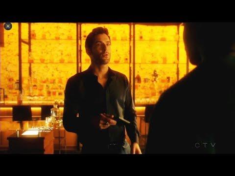 Lucifer 3x04 WWLD ?  Luci to Amenadiel - Pierce hitting on Chloe Season 3 Episode 4 S03E04