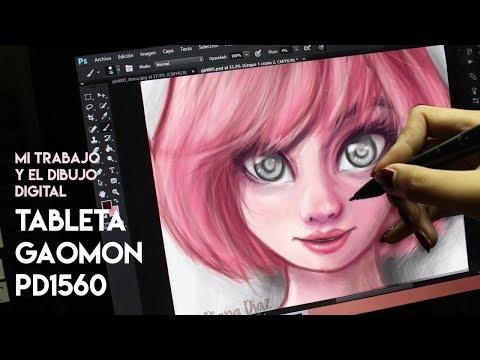 Dibujo Digital y Tableta GAOMON PD1560 | Diana Díaz