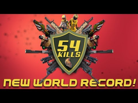 New World Record 54 Kills! (fortnite Battle Royale)