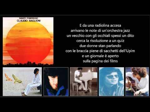 , title : 'CLAUDIO BAGLIONI - Poster'