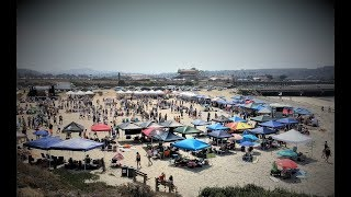 Vigilucci's Beach Bocce Ball World Championship Del Mar Dog Beach San Diego California 2017
