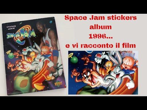 #SPACE #JAM stickers album 1996 #MICHAEL #JORDAN - e vi racconto il film - #LOONEY #TUNES #spacejam