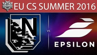 Nerv vs Epsilon, game 1