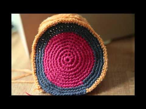 Häkeln – Crochet – Mochilas – Beutel häkeln – 1