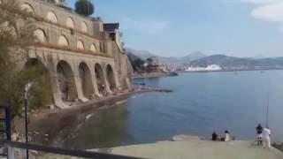 Vietri Sul Mare Italy  City new picture : Marina di Vietri sul Mare e la spiaggia - Vietri sul Mare beach