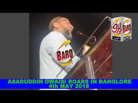 Video ASADUDDIN OWAISI ROARS IN BANGALORE ON 4th MAY 2018 #  ASADUDDIN OWAISI SPEECH # HIGHLIGHTS download in MP3, 3GP, MP4, WEBM, AVI, FLV January 2017