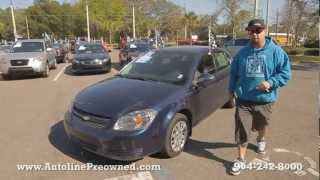 Autoline Preowned 2010 Chevrolet Cobalt LT For Sale Used Walk Around Review Test Drive Jacksonville