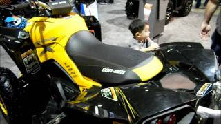 6. 2012 CAN-AM 800 EFI Xxc Quad OutLander Walk Around Video. Motorcycles VLOG