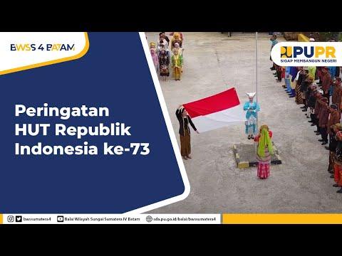 Peringatan Hari Kemerdekaan RI ke-73 Balai Wilayah Sungai Sumatera IV