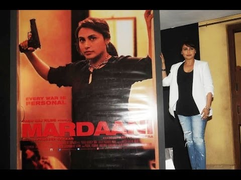Rani Mukerji launches Mardaani trailer