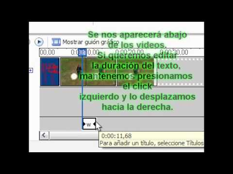 Video 2 de Windows Movie Maker: Pegar varios videos cortos