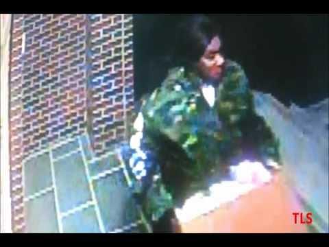 Surveillance of Burglar Stealing Grocery Order From Front Door