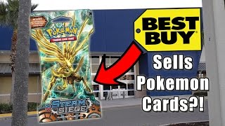 BEST BUY SELLS POKEMON CARDS?? by The Pokémon Evolutionaries