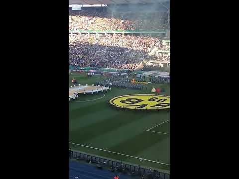 DFB-Pokalfinale 2017 Berlin Siegerehrung Dortmund / Frankfurt