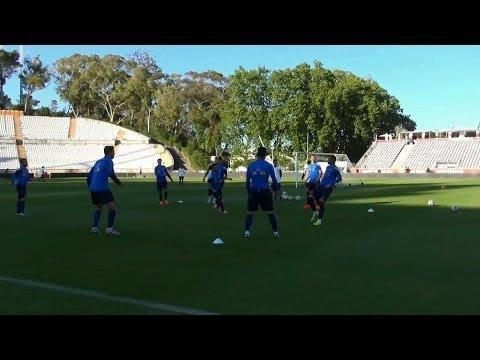 Η προπόνηση στη Λισαβόνα (9 μέρες για Βραζιλία) | Training session at Lisbon