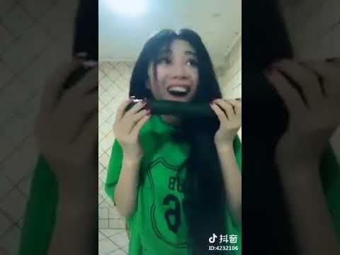 Asian Girl Accidentally Rap While Deepthroating A Cucumber