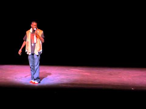 BET Comedian Michael Blackson Hosted Mother Africa and her Talents 2010 Show