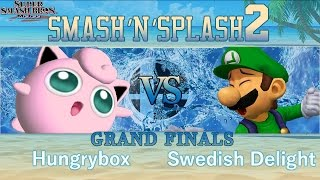 SNS2 – Liquid`Hungrybox (Jigglypuff) vs BERT | Swedish Delight (Luigi) – Melee Grand Finals