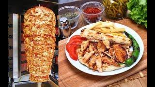 Video Turkish Doner Chicken Kebap Recipe Traditional Food MP3, 3GP, MP4, WEBM, AVI, FLV Juni 2018