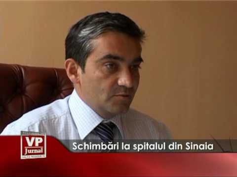 Schimbări la spitalul din Sinaia