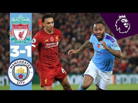 HIGHLIGHTS   Liverpool 3-1 Man City (Fabinho, Salah, Mane, Bernardo Silva)