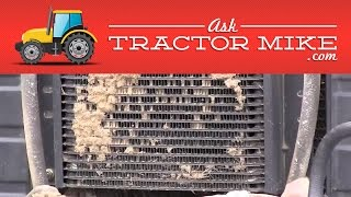 6. A Handy Way to Clean Your Tractor Radiator
