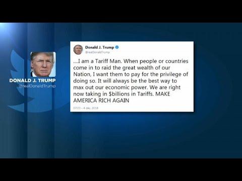 Τραμπ: Απειλεί εκ νέου την Κίνα με «μεγάλους δασμούς»