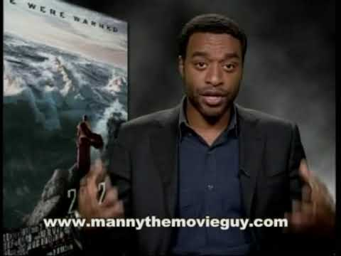 Chiwetel - http://www.mannythemovieguy.com Chiwetel Ejiofor plays the President's chief science advisor in
