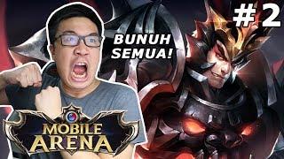 Kembali lagi ke game mobile arena ini guys dimana gw masih memakai jagoan utama gw yaitu Lu Bu! Kita bantai sajalah ya...