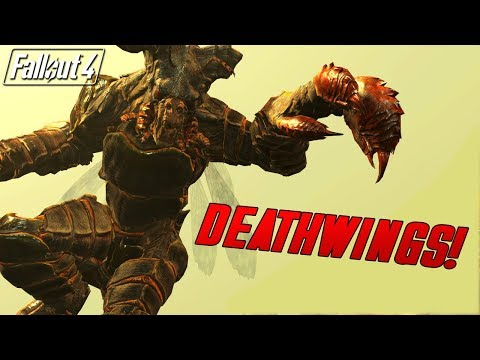 Fallout 4 Mods Weekly - DEATHWINGS!