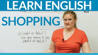 Learn Real English - SHOPPING