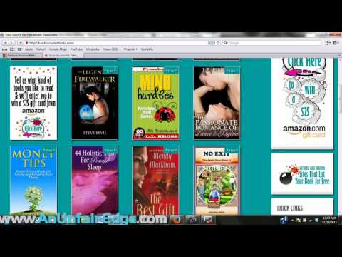 17 Places to Advertise Your Kindle Book at for Free