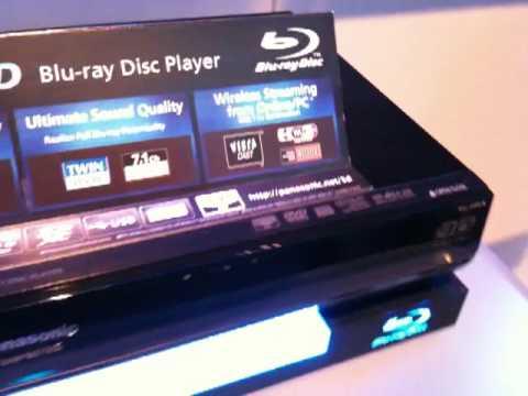 Video CES 2010 - Panasonic presenta il Blu-ray 3D-compatibile