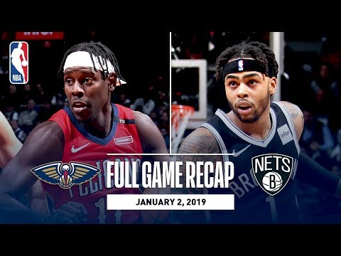 Video: Full Game Recap: Pelicans vs Nets | A.D. Drops Monster Stat Line