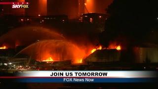 FNN: President Trump and Brazilian President Bolsonaro joint news conference; Latest on TX Fire